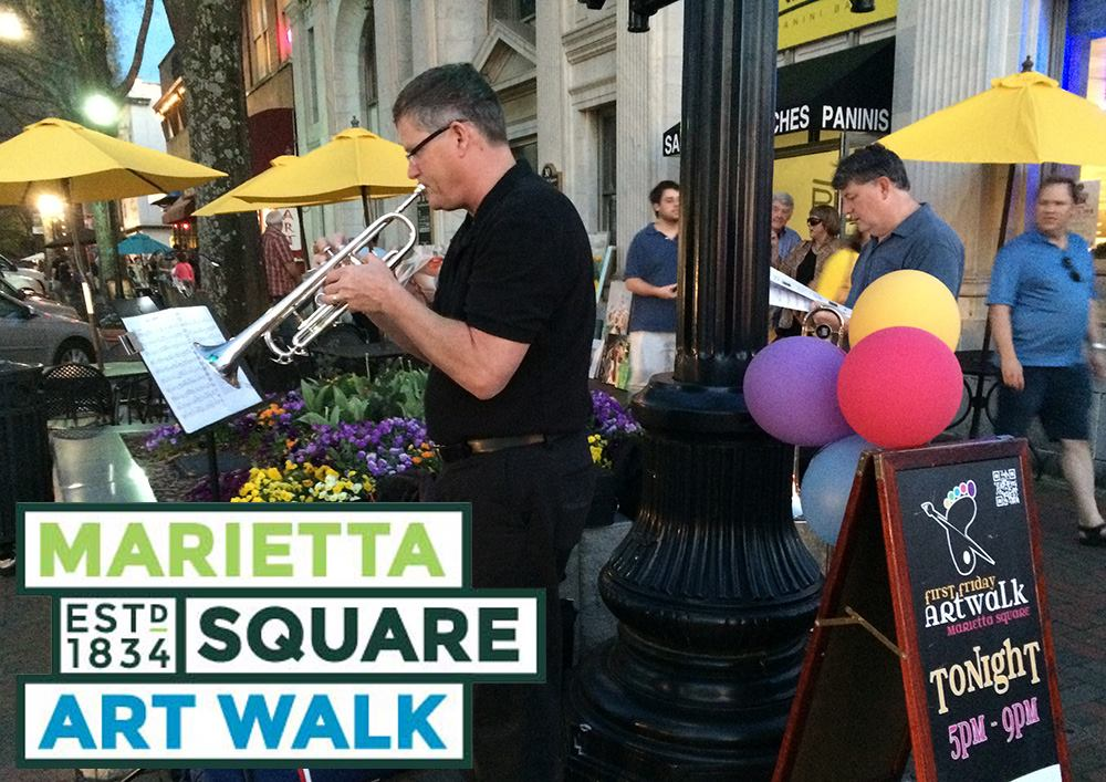 Marietta Square Art Walk Music